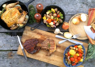 Summer Grilled Meat Table